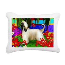 afghan hund Rectangular Canvas Pillow