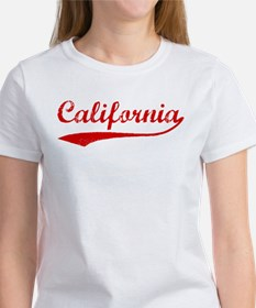 Red Vintage: California Women's T-Shirt