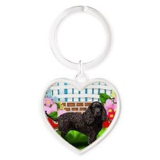 waterspanielgarden Heart Keychain