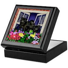 windowpug2 copy Keepsake Box