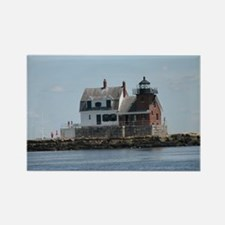 Rockland Light Lighthouse Rectangle Magnet
