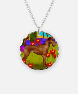 irishterrierlake copy Necklace