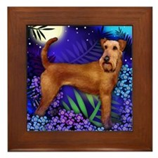 irishterrier3 copy Framed Tile
