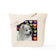 samoyed 3 copy Tote Bag