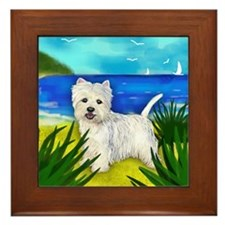 westiebeach copy Framed Tile