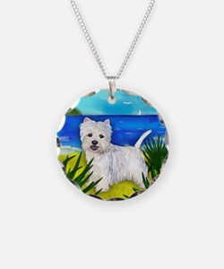 westiebeach copy Necklace Circle Charm