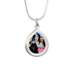 schipperkegirl4 copy Silver Teardrop Necklace