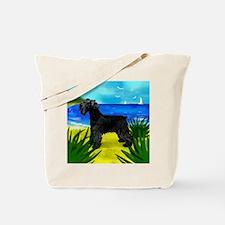 schnaucerbeach copy Tote Bag