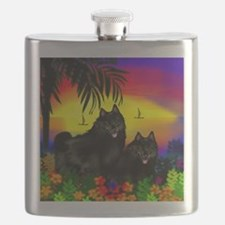 schipperkesunset copy Flask