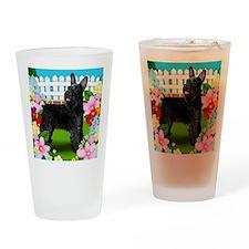 schnauzer7 copy Drinking Glass