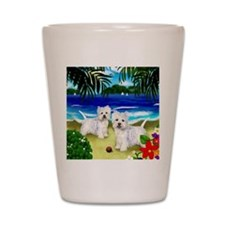 westiebeach 2copy Shot Glass
