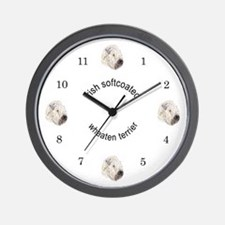 Colored Pencil softcoated w Wall Clock
