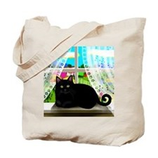 blcatwindow copy Tote Bag