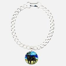 pugbeach copy Charm Bracelet, One Charm