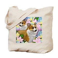 welshdogsgarden copy Tote Bag