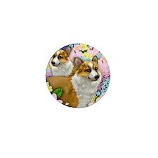 welshdogsgarden copy Mini Button