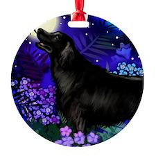 flatcoatretriever copy Ornament