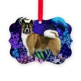 Akita Picture Frame Ornaments