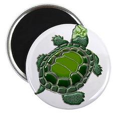 3D Textured Turtle Magnet