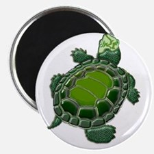 3D Textured Turtle Magnet