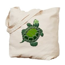 3D Textured Turtle Tote Bag