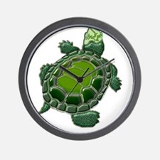 3D Textured Turtle Wall Clock