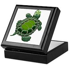 3D Textured Turtle Keepsake Box