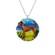 irishterrierbeach copy Necklace