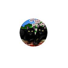 blcatscherry copy Mini Button