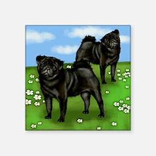 "pugsloan copy Square Sticker 3"" x 3"""