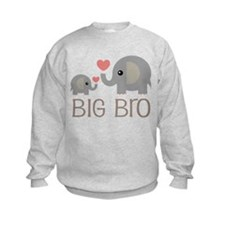 Big Bro Elephant Sibling Sweatshirt