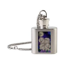 eskiesmoon copy Flask Necklace
