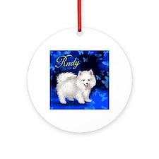 rudy copy Round Ornament