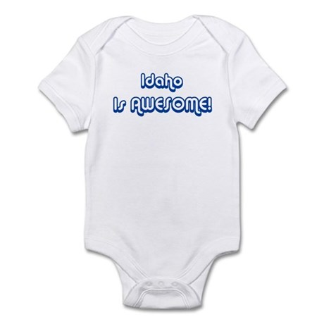 Idaho is Awesome Infant Bodysuit