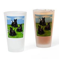 scotiegrass copy Drinking Glass