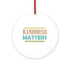 Kindness Matters Ornament (Round)