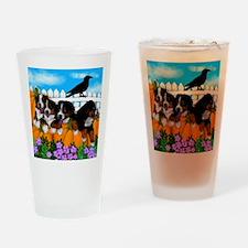 bernesecopypump copy Drinking Glass
