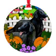 flatcoatpump copy Ornament