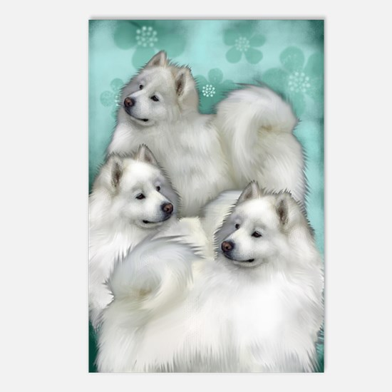 samoyed3PR Postcards (Package of 8)
