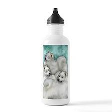 samoyed3PR Water Bottle