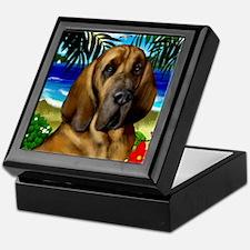 Bloodhoundbeach copy Keepsake Box