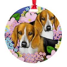 beagledogs copy Ornament