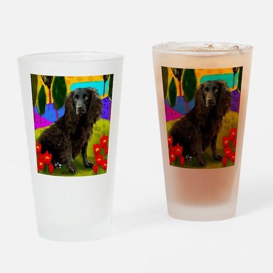 boykin spaniel3 copy Drinking Glass