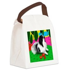 JCpoppies copy Canvas Lunch Bag