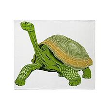 Galapagos Tortoise Throw Blanket