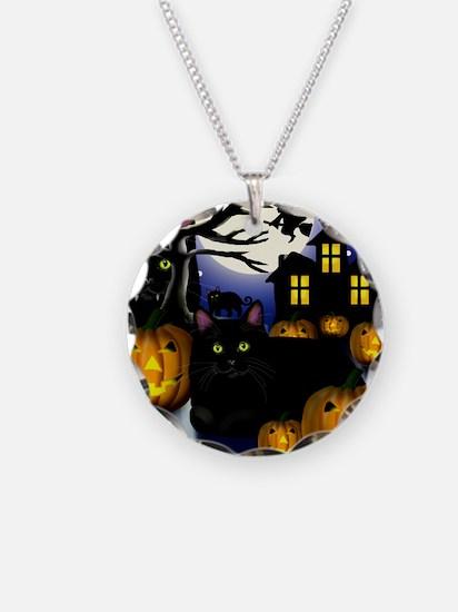 halloweencats copy Necklace