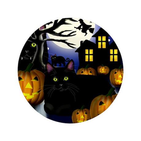 "halloweencats copy 3.5"" Button"