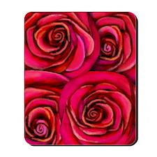 roses copy Mousepad