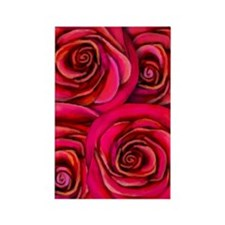 roses copy Rectangle Magnet