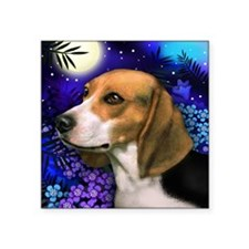 """beagle6 copy Square Sticker 3"""" x 3"""""""